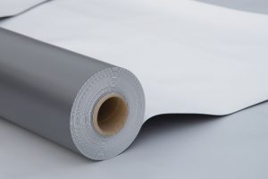 A Picture of a Roll of PVC Membrane